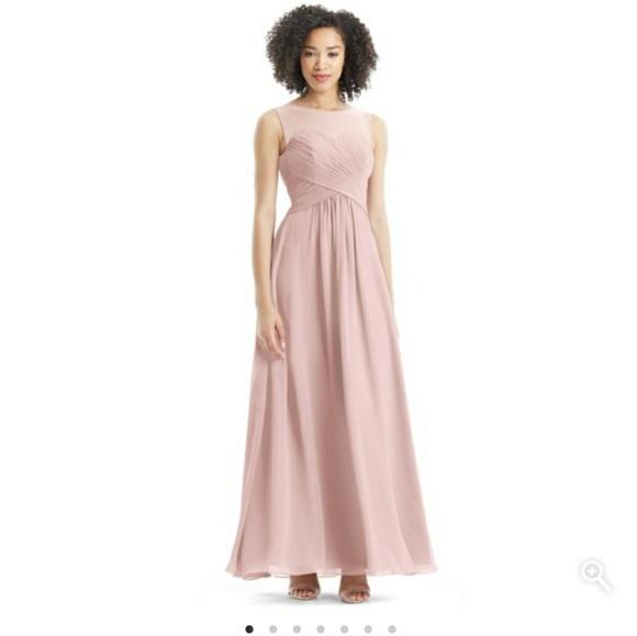 a6a6e1c3ae3 Azazie Gigi Bridesmaid Dress in Dusty Rose Size 10